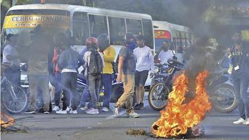 Las protestas contra el Gobierno de Honduras dejan dos muertos
