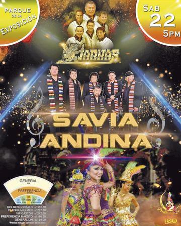 Los potosinos Savia Andina toca mañana en Lima