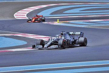 Hamilton saldrá primero en el Gran Premio de Francia