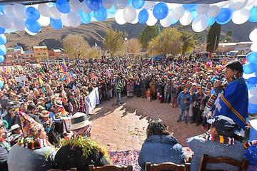 Evo crea municipio 41 en Potosí y sugiere que cambien el nombre