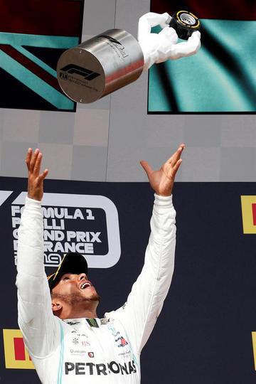Hamilton y Mercedes prolongan su tiranía
