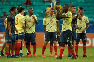 Colombia gana y deja en agonía a Paraguay