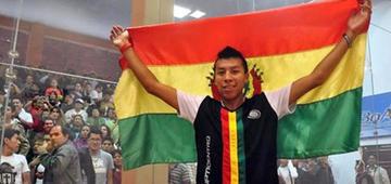 Moscoso y Centellas ganan el nacional de raquetbol