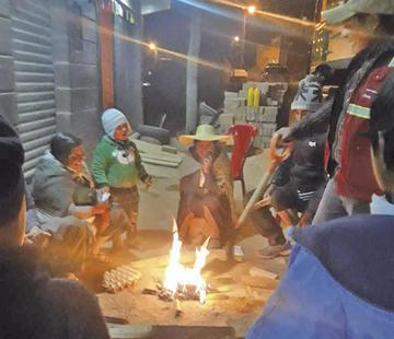 Apagaron 55 fogatas en la ciudad en San Juan