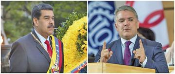 Nicolás Maduro autoriza a las FF.AA. responder a Iván Duque