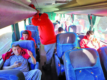La Vieja Casona viajó ayer rumbo a Oruro
