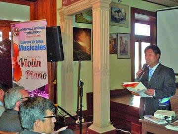 Lanzan concurso de piano y violín