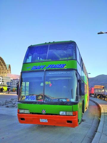 Buses viajan por altiplano sin servicio de calefacción
