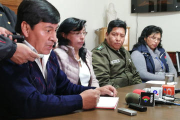 El gobernador pide intervención policial en zona de Villa Cantería