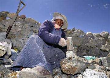 Develan que las palliris viven en condiciones de pobreza en Potosí