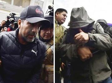 Medina y Moreira aún no son llevados a la cárcel Palmasola
