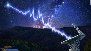 Científicos hallan ráfaga de ondas de radio cósmica