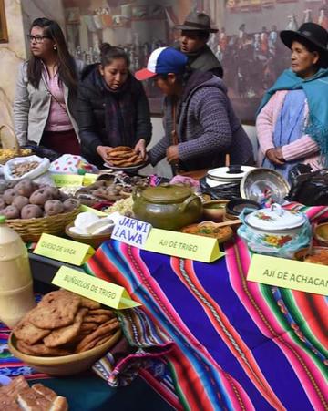 Arranca la feria productiva de comunidades de Yocalla