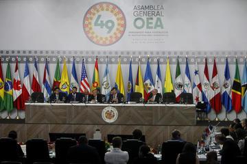 La Asamblea de la OEA muestra división por crisis de Venezuela