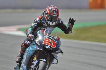 Quartararo es el más rápido en el GP de los Países Bajos