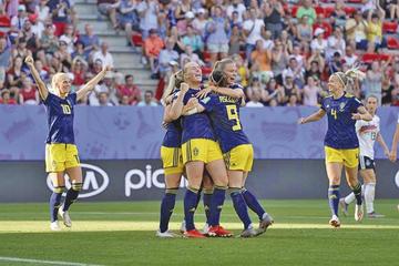"""Suecia vence y pasa a """"semis"""" del Mundial femenino"""