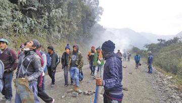 La Apdhb no justifica intervención policial al bloqueo de Yungas