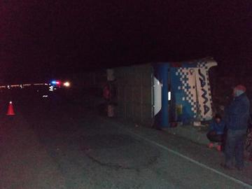 Diez personas mueren en nueve accidentes de tránsito en Potosí