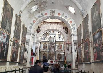 Inspeccionaron el templo de San Miguel de Tomave