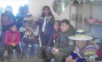 Comunarios pretendieron linchar a 4 personas