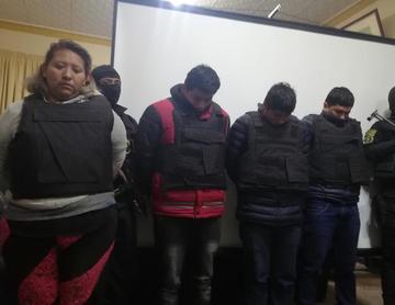 Desbaratan supuesta banda de  ladrones que operaba en Potosí