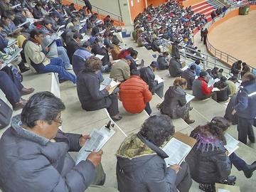 Maestros potosinos se alistan para el examen de ascenso