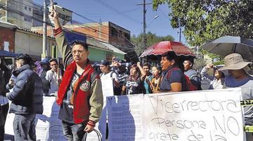 Cochabamba: universitarios exigen cursos de invierno