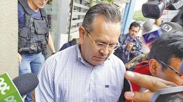 Gonzalo Medina pide postergar su traslado a Palmasola