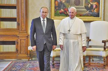 El Papa y Putin hablaron sobre situación en Venezuela y Siria