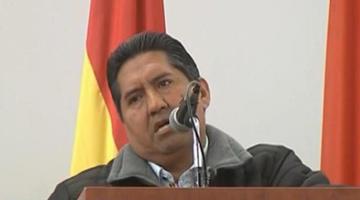 El ejecutivo de la Prensa le brinda su apoyo a Evo