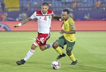 Sudáfrica elimina a Egipto y se cuela en cuartos
