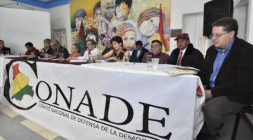 Cívicos plantean que el paro en defensa del 21F sea el 26 de julio