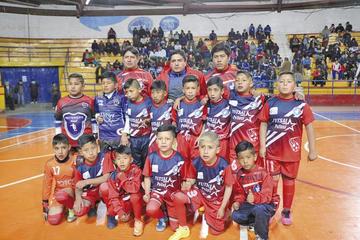 Potosinos caen en su debut en el nacional de futsal sub 10
