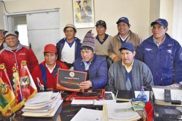Buscan el fortalecimiento del movimiento campesino