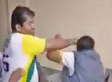 Alcalde de Alto Beni del MAS agrede a puñetes a un transportista