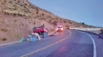 Cansancio de chofer provocó un aparatoso accidente vial