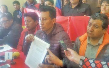 Rodríguez renuncia criticando el accionar de Bolivia Dijo No