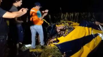 Aeronáutica Civil confirma muerte de dos personas en accidente aéreo en La Enconada de Santa Cruz