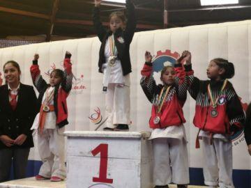 Termina el nacional de Karate Sub 10