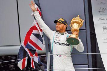 Hamilton gana el GP de Gran Bretaña
