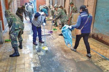 Limpieza en cuatro mercados dejó cinco toneladas de basura