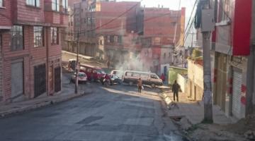 Choferes bloquean vías, se concentran para marchar hacia el centro, protestan contra la Alcaldía