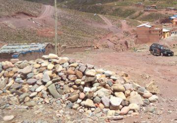 Alcalde denuncia que Yocalla ambiciona las áreas mineras y cerro
