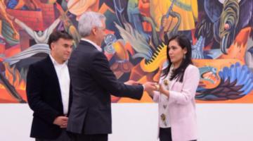 Adriana Salvatierra, la primera presidenta joven y de nacionalidad boliviana-chilena del país