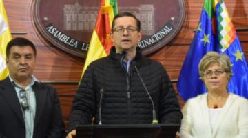 Ortiz acusa a CC de comprar a Rodríguez y armar una guerra sucia contra Bolivia Dice No
