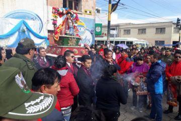 El Señor de Bombori  estuvo un día en Potosí