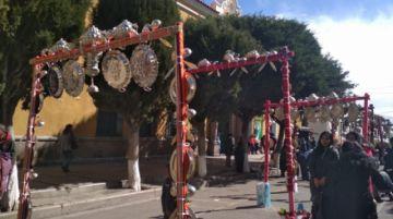 Video: Potosí recibe al señor Santiago de Chaquí