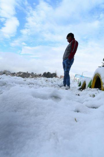 Galería: así despertó la ciudad de El Alto con manto blanco que cubre toda la ciudad