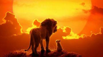 Simba llega a los cines en el nuevo Rey León de Disney