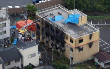 Incendio provocado en Japón deja 33 muertos